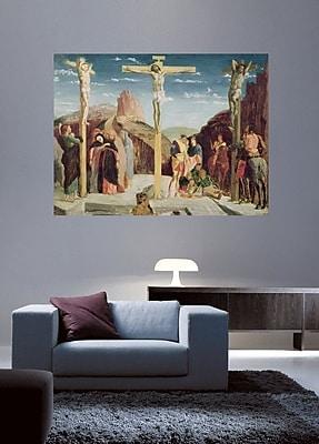 Astoria Grand 'Calvary' by Edgar Degas Graphic Art Print Poster; 45'' H x 60'' W