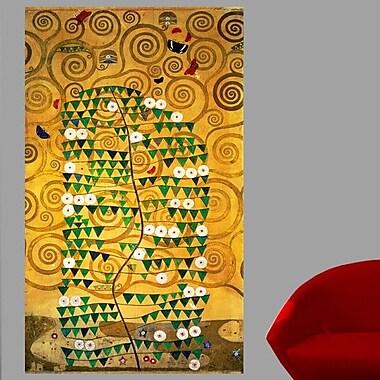 Bloomsbury Market 20th 'Tree of Life' by Gustav Klimt Oil Painting Print Poster; 72'' H x 43'' W