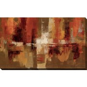 Latitude Run 'Castanets' Painting Print on Wrapped Canvas; 28'' H x 48'' W
