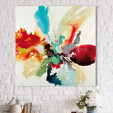 Latitude Run 'Color Expression' Print on Wrapped Canvas; 36'' H x 36'' W