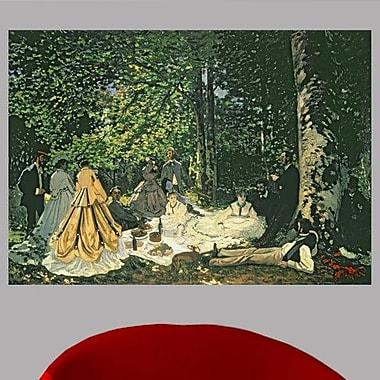 Astoria Grand Claude Monet 'Le Dejeuner sur l'Herbe' Painting Print Poster; 42'' H x 60'' W