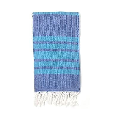 Highland Dunes Luxury Pestemal Fouta Turkish Beach Towel; Navy Blue