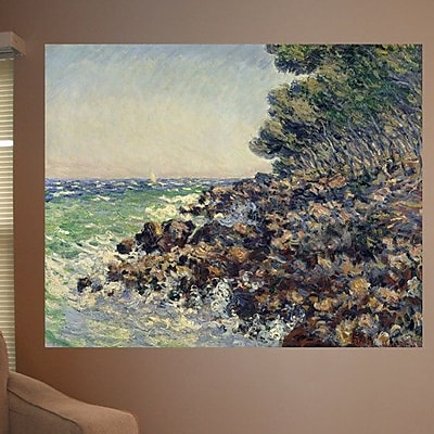 Highland Dunes 1884 'Cap Martin' by Claude Monet Oil Painting Print Poster; 29'' H x 36'' W