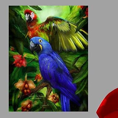 Latitude Run 'Spirit Of The Tropics' Graphic Art Print Poster; 18'' H x 24'' W