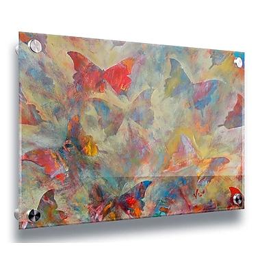 Latitude Run 'Fancyfly' Acrylic Painting Print