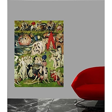 Astoria Grand 16th 'The Garden of Earthly Delights' Oil Painting Print Poster; 17.5'' H x 24'' W