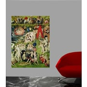 Astoria Grand 16th 'The Garden of Earthly Delights' Oil Painting Print Poster; 44'' H x 60'' W