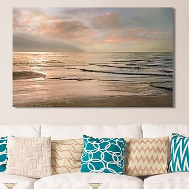 Highland Dunes 'Sands of Time' Photographic Print on Wrapped Canvas; 36'' H x 60'' W