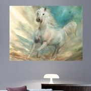 Red Barrel Studio 'Across The Windswept Sky' Painting Print Poster; 36'' H x 48'' W