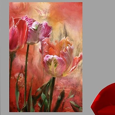 Red Barrel Studio 'Tulips-Colors Of Love' Graphic Art Print Poster; 24'' H x 16'' W