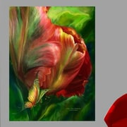 Red Barrel Studio 'Tulips-Colors Of Paradise' Graphic Art Print Poster; 24'' H x 18'' W