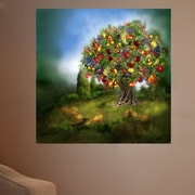 Red Barrel Studio 'Tree Of Abundance' Graphic Art Print Poster; 48'' H x 48'' W