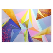 Brayden Studio 'The Extrapolation of Internal Desire' Rectangle Graphic Art Print on Wrapped Canvas