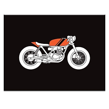 Ivy Bronx 'Cafe Facer 2' Graphic Art Print on Wrapped Canvas; 30'' H x 40'' W
