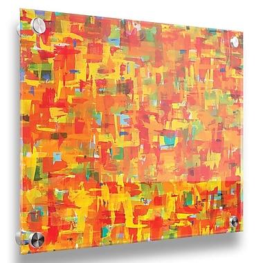 Brayden Studio 'Citrus' Acrylic Painting Print; 30'' H x 30'' W x 0.25'' D