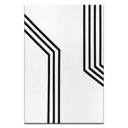 Corrigan Studio 'Geometric 11' Graphic Art Print on Wrapped Canvas; 60'' H x 40'' W