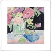 Ophelia & Co. 'Fruit and Flowers' Acrylic Painting Print on Paper; 19'' H x 19'' W x 0.02'' D