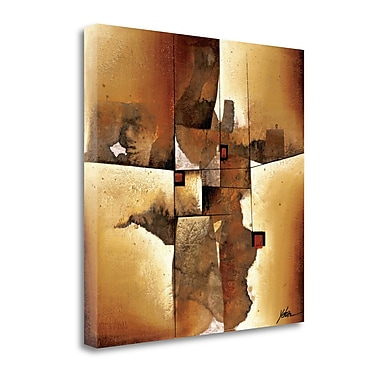 Tangletown Fine Art 'Melted Patterns' by Yehan Wang Graphic Art on Wrapped Canvas; 25'' H x 25'' W