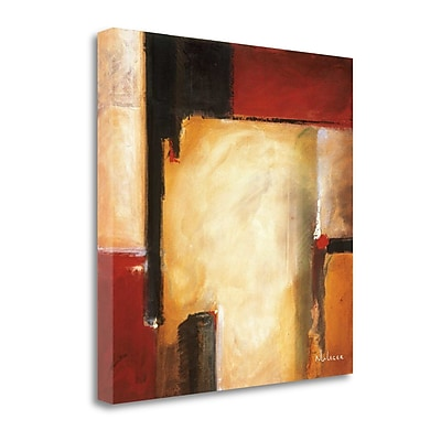Tangletown Fine Art 'West' by Noah Li-Leger Painting Print on Wrapped Canvas; 35'' H x 35'' W