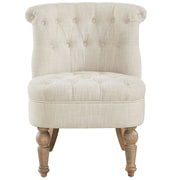 Ophelia & Co. Linnea Tufted Said Chair; Beige