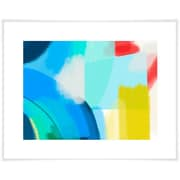 Ivy Bronx 'Blueberry Abstract' Acrylic Painting Print on Paper; 17'' H x 21'' W x 0.02'' D