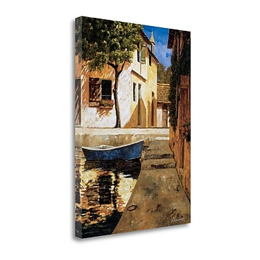 Tangletown Fine Art 'A Touch of Blue' by Gilles Archambault Painting Print on Wrapped Canvas