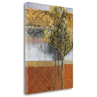 Tangletown Fine Art 'Edge of the Path' by Leslie Bernsen Painting Prinrt on Wrapped Canvas