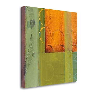 Tangletown Fine Art 'Kaleidoscope Rotations I' by Leslie Bernsen Painting Print on Wrapped Canvas