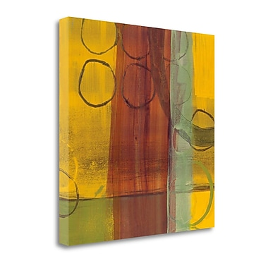 Tangletown Fine Art 'Kaleidoscope Rotations II' by Leslie Bernsen Painting Print on Wrapped Canvas