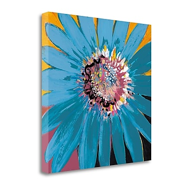 Tangletown Fine Art 'Sunshine Flower II' by Leslie Bernsen Painting Print on Wrapped Canvas