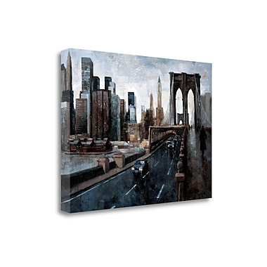 Tangletown Fine Art 'Manhattan Without You' by Marti Bofarull Painting Print on Wrapped Canvas