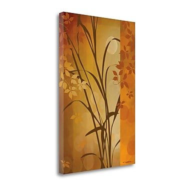 Tangletown Fine Art 'Autumn Sunset I' by Edward Aparicio Graphic Art on Wrapped Canvas