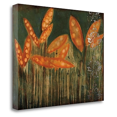 Tangletown Fine Art 'Garden' by Jenn Flynn Graphic Art on Wrapped Canvas; 18'' H x 23'' W