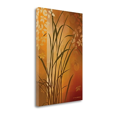 Tangletown Fine Art 'Autumn Sunset II' by Edward Aparicio Graphic Art on Wrapped Canvas