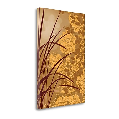 Tangletown Fine Art 'Golden Flourish I' by Edward Aparicio Graphic Art on Wrapped Canvas