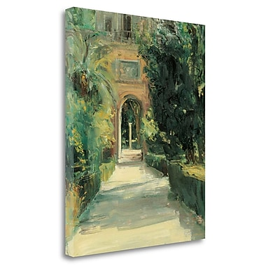 Tangletown Fine Art 'Arco y Columna' by Jose Luis Castrillo Painting Print on Wrapped Canvas