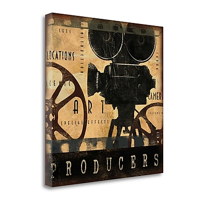 Tangletown Fine Art Producers' Graphic Art Print on Canvas; 20'' H x 20'' W