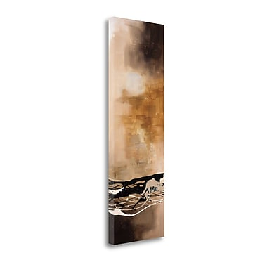 Tangletown Fine Art 'Tobacco and Chocolate III' by Laurie Maitland Graphic Art on Wrapped Canvas