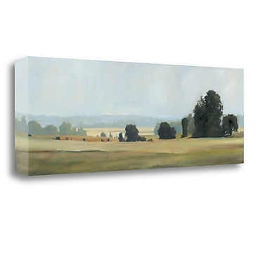 Tangletown Fine Art 'Bright Day' by Megan Lightell Painting Print on Wrapped Canvas; 12'' H x 34'' W