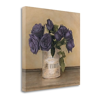 Tangletown Fine Art 'Royal Roses' by Cristin Atria Graphic Art on Wrapped Canvas; 30'' H x 30'' W