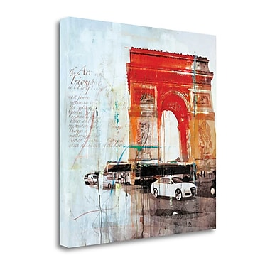 Tangletown Fine Art 'The City of Light II' by Markus Haub Graphic Art on Wrapped Canvas
