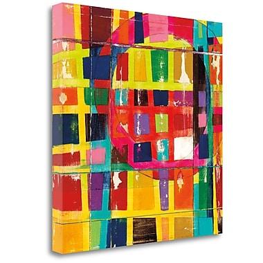 Tangletown Fine Art 'Wonderful Six' by Dante Vida Graphic Art on Wrapped Canvas; 20'' H x 20'' W