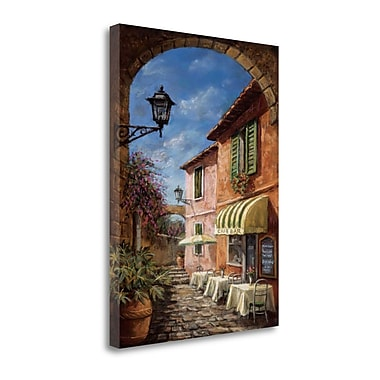 Tangletown Fine Art 'Through the Archway' by Malcolm Surridge Graphic Art on Wrapped Canvas