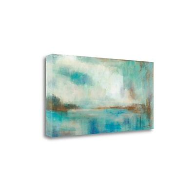 Tangletown Fine Art 'A Familiar Light' by Karen Lorena Parker Painting Print on Wrapped Canvas