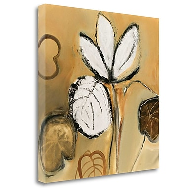Tangletown Fine Art 'Lily Pond I' by Natasha Barnes Graphic Art on Wrapped Canvas; 20'' H x 20'' W