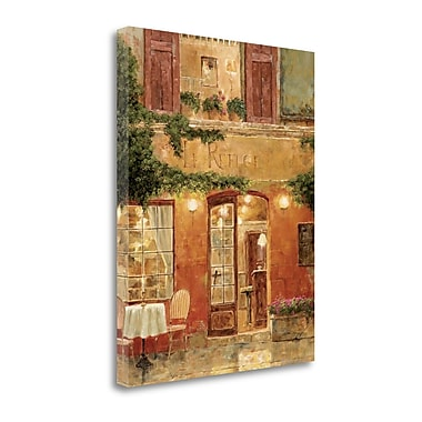 Tangletown Fine Art 'No Reservation Needed' by Gilles Archambault Graphic Art on Wrapped Canvas