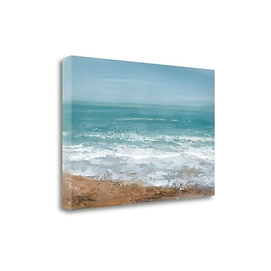 Tangletown Fine Art 'Hazy Days' by Caroline Gold Graphic Art on Wrapped Canvas; 26'' H x 39'' W