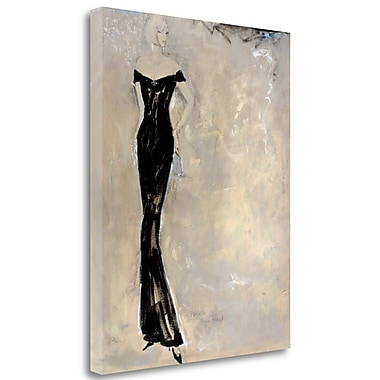Tangletown Fine Art 'Colors of Night I' by Andrea Stajan-Ferkul Painting Print on Wrapped Canvas