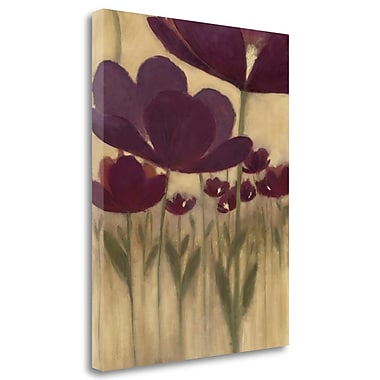 Tangletown Fine Art 'Summer Bloom II' by MARIA Painting Print on Wrapped Canvas; 34'' H x 23'' W