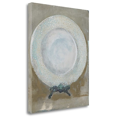 Tangletown Fine Art 'Dinner Plate I' by Andrea Stajan-Ferkul Graphic Art on Wrapped Canvas